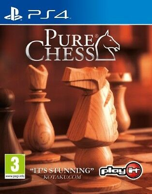 Pure Chess PS4 New & Sealed In Stock Free Express Post