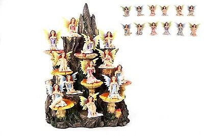 Faires~Figurine~Fairies On Mountain~Set Of 12 Assorted