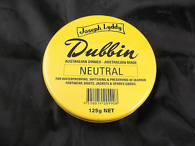 The Original Joseph Lyddy Dubbin Neutral 125g Reduced Price Winter Special