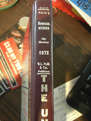Polk's City Directory 1972 Newcomerstown, Ohio