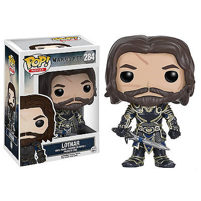 Funko World Of Warcraft POP Lothar Vinyl Figure NEW Toys Collectibles WOW