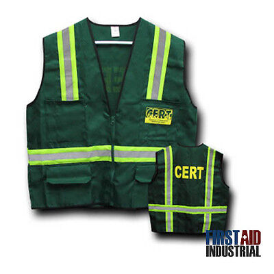 C.E.R.T Reflective Safety Vest - Mayday SH55A Community Emergency Response Team