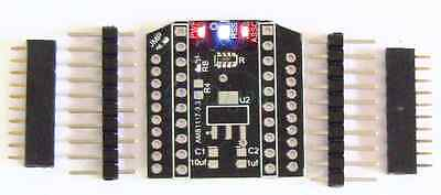 """XBee/XBee Pro/Ciseco XRF Breakout Board to 0.1"""" DIP Adapter 3 LED Indicators NEW"""