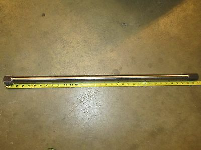 "33 1/2"" Axle Gundrilled Quickchange / Floater 9"" Winters Race Tiger"