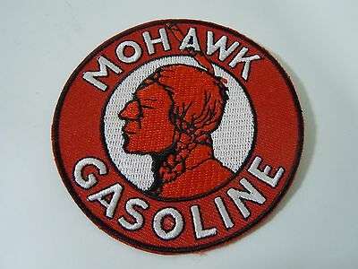 MOHAWK GASOLINE  Embroidered Iron On Uniform-Jacket Patch 3""