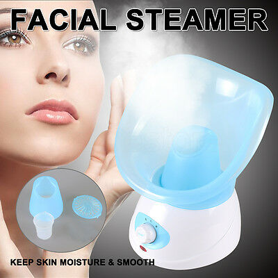 Facial Face Steamer Deep Pores Cleanser Mist Thermal Sprayer Spa Skin Cleansing