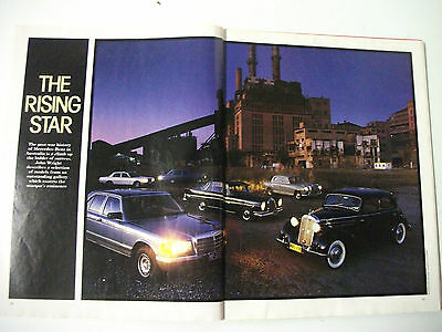 Mercedes-Benz From 1951 To 1985 170S 220S/se 280Se 3.5 & 380Se Models Group Test