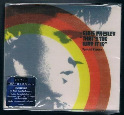 Elvis Presley That's The Way It Is  Box 3 Cd F.c. Nuovo Sigillato!!!