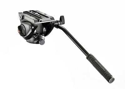 Manfrotto MVH500AH Light Weight Fluid Video Head with Flat Base ~ Replace 701HDV