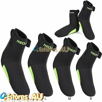 NEOpine 3mm Diving Swim Socks Scuba Surfing Kayak Water Sports Snorkeling Boots