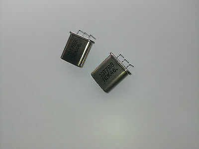 [2 pcs] One Pair NDK 10T7BB Cristal Filter 10.7MHz 4Poles BW=7.5kHz case D-359-B