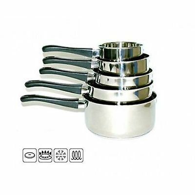 Casserole Inox X 5 Lot Induction Pp Code 12081750
