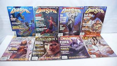 Lot Of 8 AD&D DUNGEON & DRAGONS MAGAZINES 1998-2001 Great Condition 250-259-261+