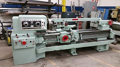 "20"" x 78"" Lodge & Shipley Engine Lathe, 20HP, 4"" Spindle, Good Condition"