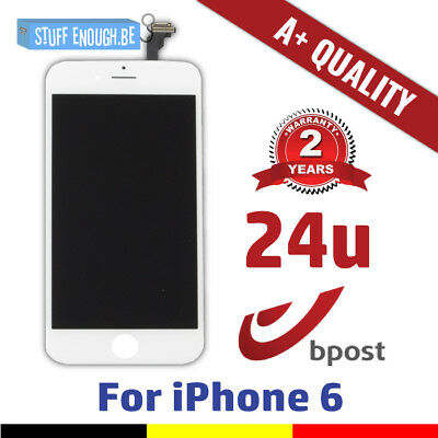 "Iphone 6 4.7"" A+ Lcd Touch Screen Vitre Tactile Display/scherm/écran White Blanc"