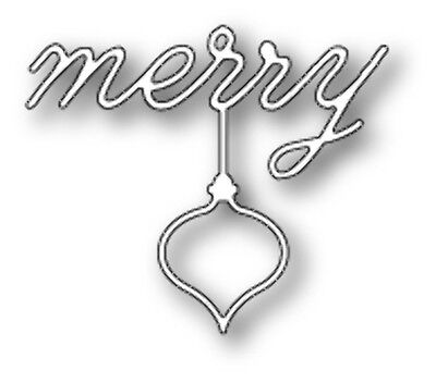 Poppy Stamps - Dies - Merry Ornament