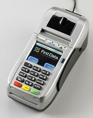 First Data: FD130 Terminal with EMV / NFC/ WiFi (001867064)