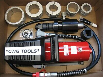 """AIR HYDRAULIC EXHAUST PIPE EXPANDER HYDRAULIC STRETCHER 1 5/8"""" to 4 1/4"""" NEW !"""