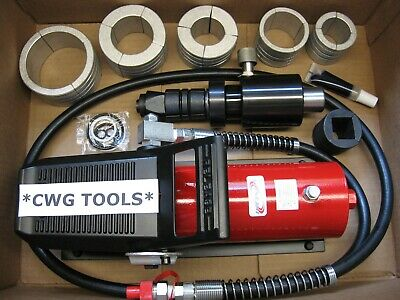 """AIR HYDRAULIC EXHAUST PIPE EXPANDER STRETCHER 1 5/8"""" to 4 1/4"""" DIAMETER TAILPIPE"""