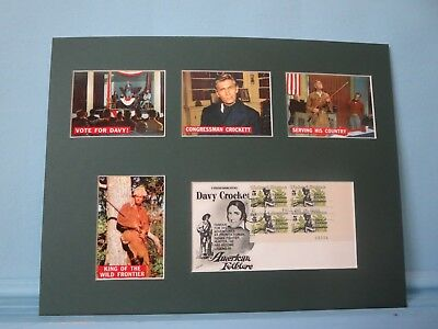 Fess Parker - Davy Crockett goes to Congress & the Davy Crockett First day Cover