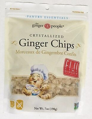 7oz The Ginger People Crystallized Ginger Chips
