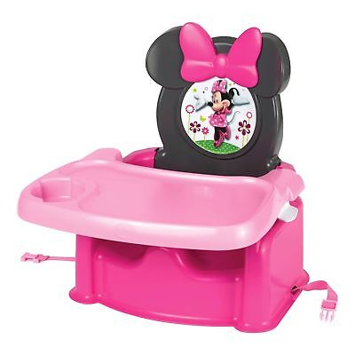 Child Booster Seat | Minnie Mouse Kids Booster Seat with Tray
