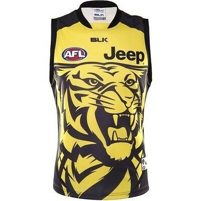 Richmond Tigers Training Guernsey 'Select Size' S-7XL BNWT5