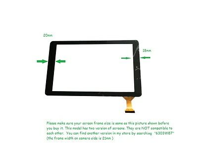 USA New Digitizer Touch Screen Panel For RCA 10 Viking Pro RCT6303W87 DK Tablet@