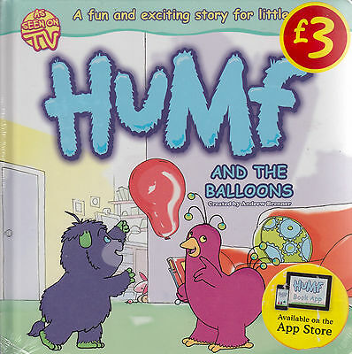 Humf and the Balloons BRAND NEW BOOK by Igloo Books Ltd (Board book, 2011)