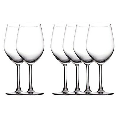 New Maxwell & Williams Set of 6 Cosmopolitan Bordeaux Wine Glasses 590ml