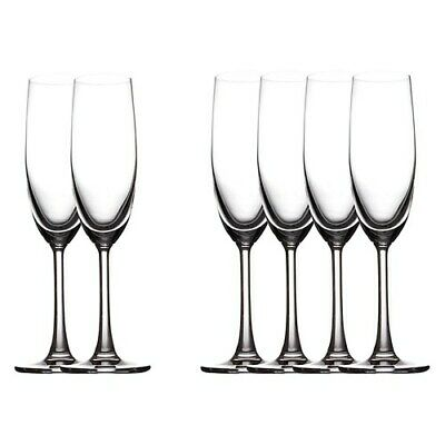 New Maxwell & Williams Set of 6 Cosmopolitan Champagne Flute Glasses 160ml