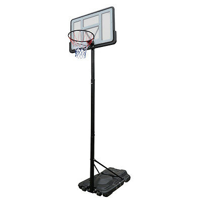Portable Height Basketball Ring System Adjustable Slam Dunk Stand Spring Loaded