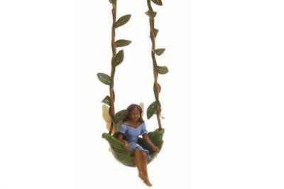 Miniature Dollhouse FAIRY GARDEN - Swing Time - Accessories