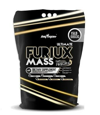 ULTIMATE FURIUX MASS 6,8Kg Chocolate BIGMAN PROTEINA CARBOHIDRATOS GAINER