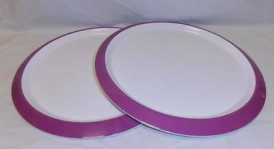 BNIP TUPPERWARE set of 2 Fiesta Charger Plates