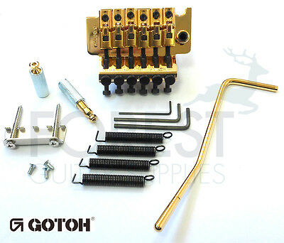 GOTOH GE1996T Floyd Rose licensed Locking tremolo bridge Gold