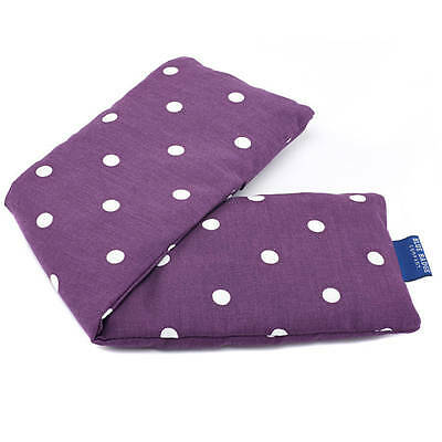 Holistic Cotton Lavender Fragranced Or Unscented Spotty Grape Cotton Wheat Bag
