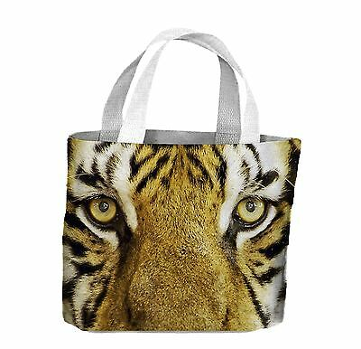 Tiger Face Close Up Tote Shopping Bag For Life - Tigers