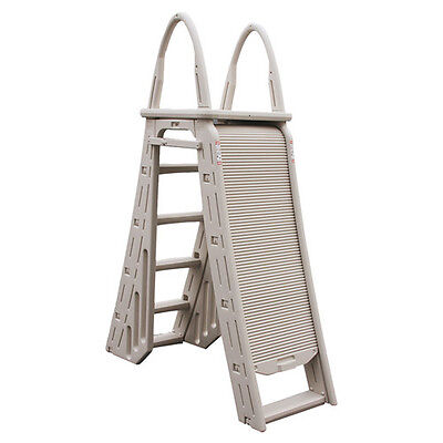 Roll Guard A-Frame Safety Ladder for Above Ground Pools