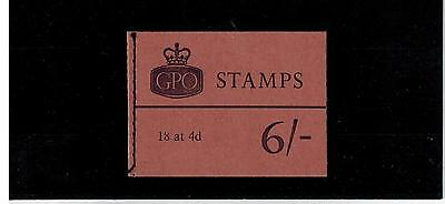 Qp36  6/-  Stitched Booklet May 68  1966 Cat £21