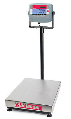 Ohaus Defender D31P30BR 30kg Capacity 5g Certified Industrial Bench Scale