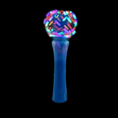LED Light Up Orbiter Spinning Wand Galaxy Spinner Rave Toy
