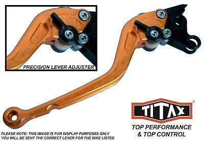 Ducati 749 R 2007 Titax Gold Long Clutch Performance Lever
