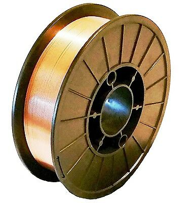 """11 Lb Roll ER70S-6 .035"""" Mild Steel MIG Welding Wire Fast Free Shipping!"""