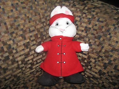 "9"" Max And Ruby Ruby Plush With Red Coat And Hat Jakks Pacific Rosemary Wells"