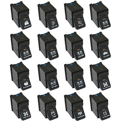 12 volt Rocker Switches for XJ Cherokee or TJ Jeep Wrangler Heaps of designs