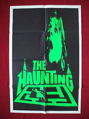 The Haunting * 1963 Original Movie Poster Day-Glo Green Teaser Halloween Horror