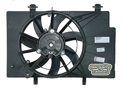 Ford Fiesta WS New Radiator Thermo Fan Assembly 2009-on Single Electrical Fit