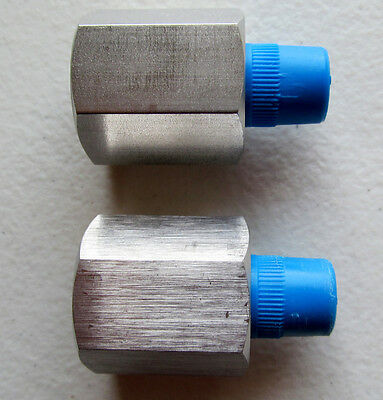 """Lot of 2 - Ham-Let Let-Lok 1/4"""" Male x 5/8"""" Female Reducing Adapter Stainless ss"""