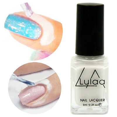 Nail Art Peel Off Base Coat Liquid Latex Liquid Tape Cream Polish Palisade White